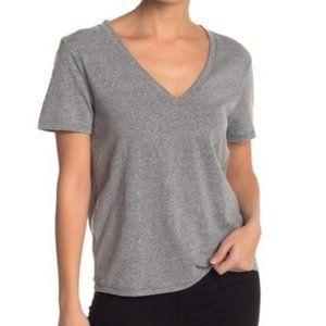 Nordstrom bp Gray Tee V-neck Short Sleeve T-Shirt